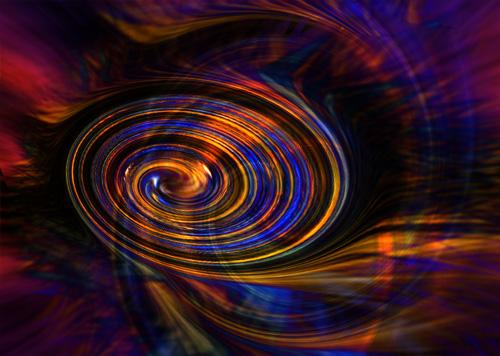 vortex of colour