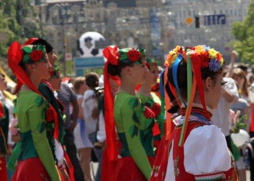Colourful Ukraine: Europe Day Celebration