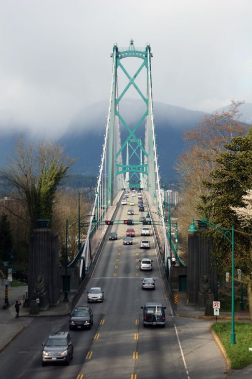 The Lions Gate Bridge, Vancouver